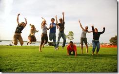 Family_jump holidays